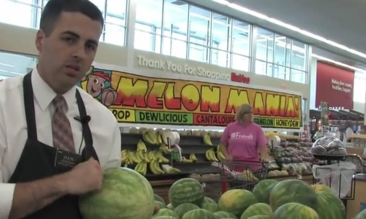Το απόλυτο κόλπο για να επιλέγετε σωστό καρπούζι (video)