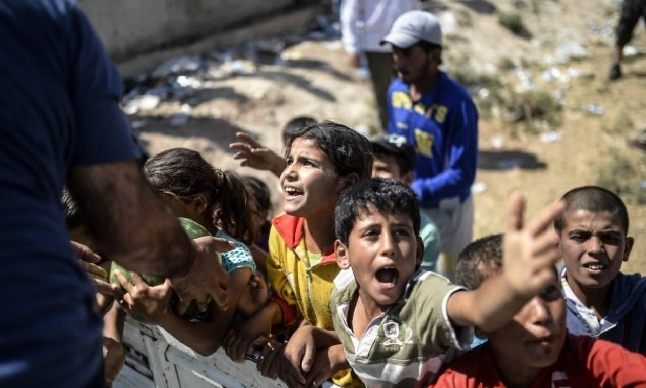 Συρία: Το φάσμα της πείνας κρατά τα προσφυγόπουλα μακριά από τα θρανία
