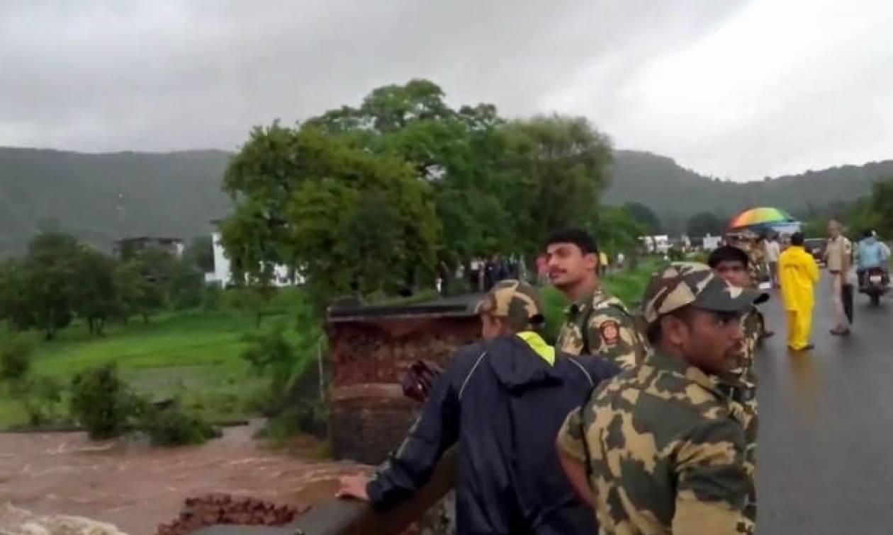 Θρίλερ στην Ινδία – Τουλάχιστον 22 άνθρωποι αγνοούνται έπειτα από κατάρρευση γέφυρας