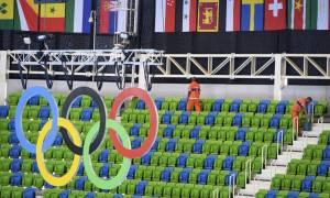 Ολυμπιακοί Αγώνες 2016: Λίθοι από την Αρχαία Ολυμπία στο Ρίο (photo)