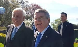 Η πρωτοβουλία Παυλόπουλου που εκθείασε ο Μπαχ της ΔΟΕ στην έναρξη της Ολυμπιάδας