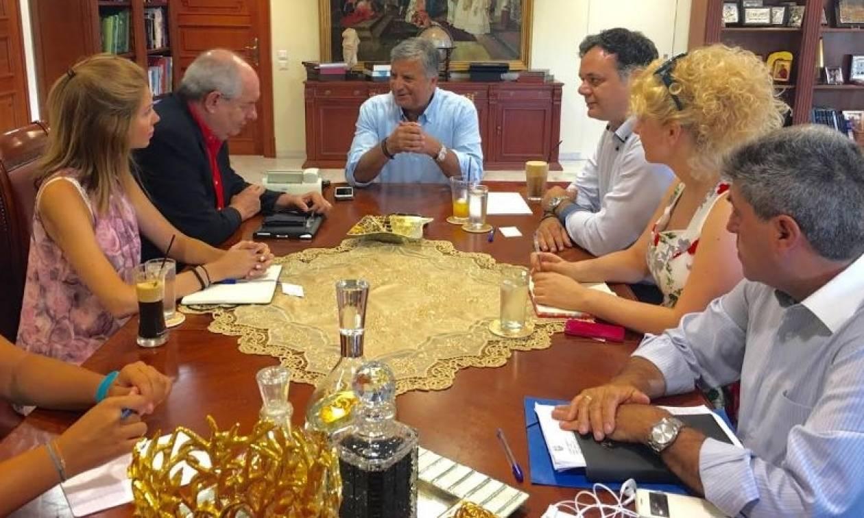 Συνάντηση Πατούλη – Κουίκ για την Τοπική Αυτοδιοίκηση
