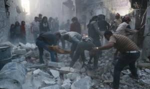 Συρία: Τουλάχιστον 13 άμαχοι νεκροί στο Χαλέπι από βομβαρδισμούς