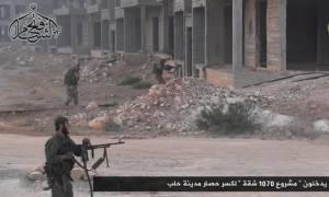 Συρία: Σκληρές μάχες στο Χαλέπι