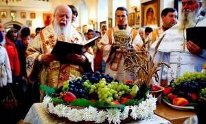 Γιατί ευλογούνται τα σταφύλια στην γιορτή της  Μεταμόρφωσης του Σωτήρος ;