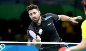 Ολυμπιακοί Αγώνες 2016 - Πινγκ Πονγκ: Με το κεφάλι ψηλά αποχαιρέτησε ο Γκιώνης