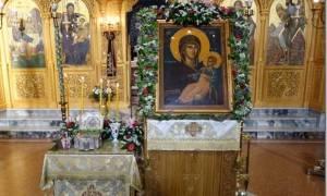 Υποδοχή ιερού λειψάνου του Οσίου Διονυσίου στην Κατερίνη