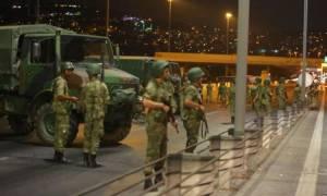 Τουρκία: Ανθρωποκυνηγητό για 216 στρατιωτικούς και χωροφύλακες που συμμετείχαν στο Πραξικόπημα