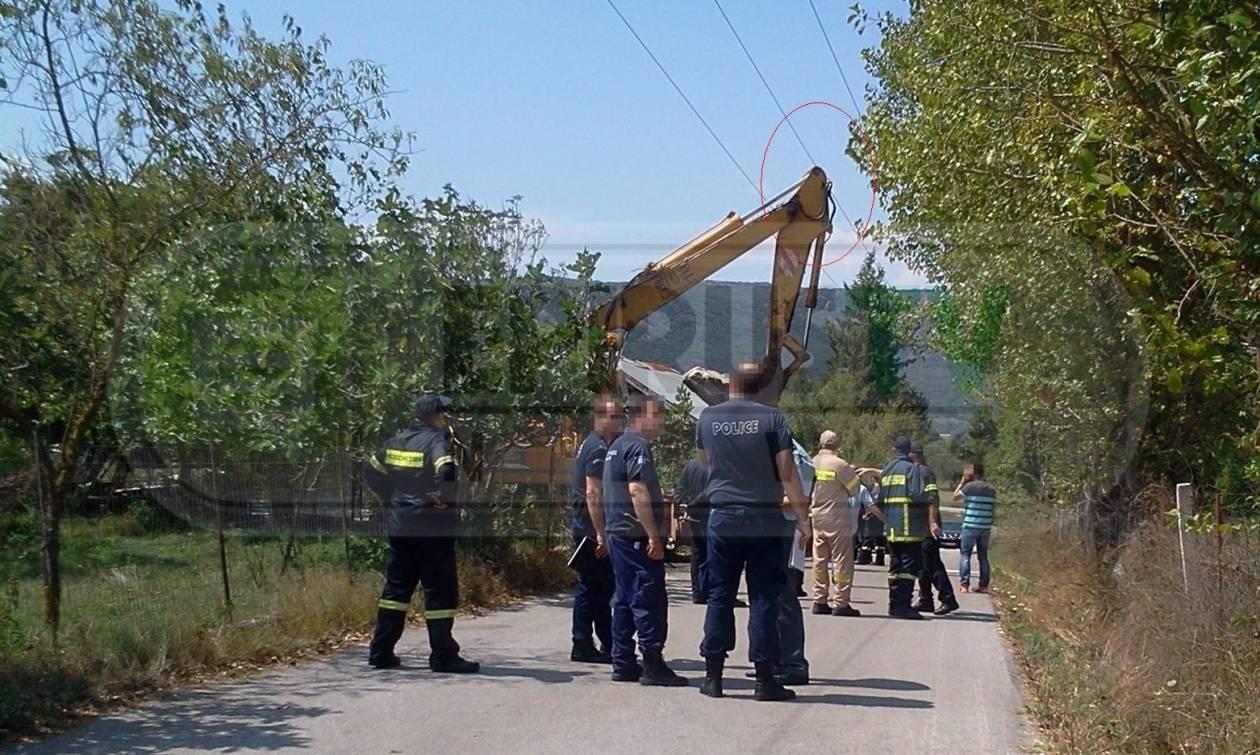 Τραγικός θάνατος για χειριστή τσάπας στα Ιωάννινα: Τον διαπέρασαν 20.000 Volt
