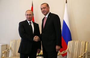 Ερντογάν στον Πούτιν: Θα κάνουμε μια νέα αρχή