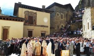 Οι Τούρκοι απαγόρευσαν τη Θεία Λειτουργία στην Παναγία Σουμελά της Τραπεζούντας τον Δεκαπενταύγουστο