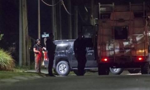 Canadian police 'kill suspect in anti-terror operation'