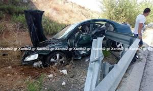 Εικόνες - σοκ από δυστύχημα στην Εγνατία οδό: Νεκρή η μητέρα, από θαύμα σώθηκε το παιδί (pics)