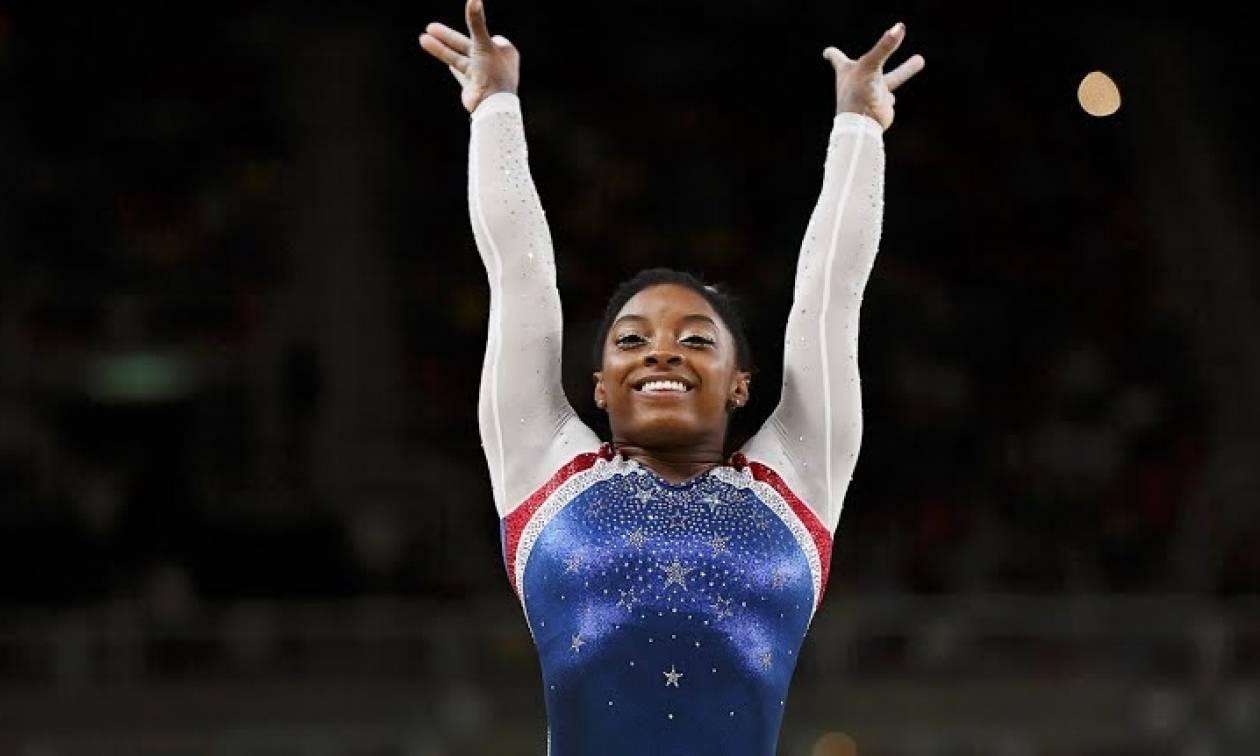 Ολυμπιακοί Αγώνες 2016 - Ενόργανη Γυμναστική: Αποθέωση για τη νέα «βασίλισσα» Σιμόν Μπάιλς