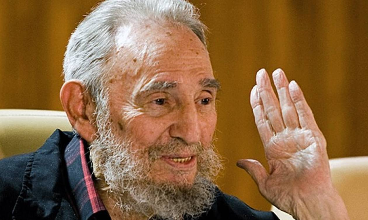 Ο Φιντέλ Κάστρο ευχαριστεί τους Κουβανούς για τις ευχές τους