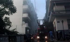 Στις φλόγες διαμέρισμα στο Περιστέρι