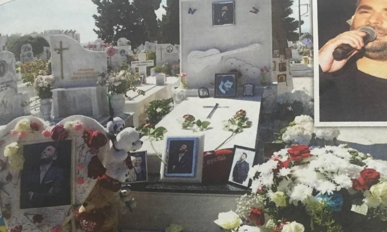 Καταγγελία: Μπράβος με όπλο έδιωχνε κόσμο από τον τάφο του Παντελίδη