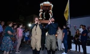 Δεκαπενταύγουστος: Εσπερινός της Κοιμήσεως της Θεοτόκου στον Πλατανιά Χανίων