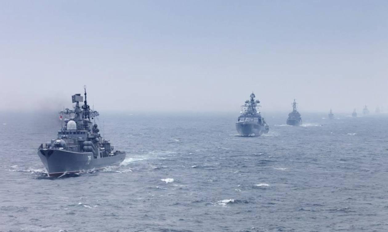 Στην Ανατολική Μεσόγειο για γυμνάσια ο ρωσικός στόλος