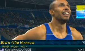 Ολυμπιακοί Αγώνες 2016 - Στίβος: Προκρίθηκε στα ημιτελικά των 110μ με εμπόδια ο Δουβαλίδης