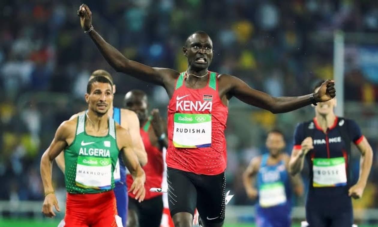 Ολυμπιακοί Αγώνες 2016 - Στίβος: Δεύτερο χρυσό μετάλλιο για τον Ρουντίσα στα 800μ