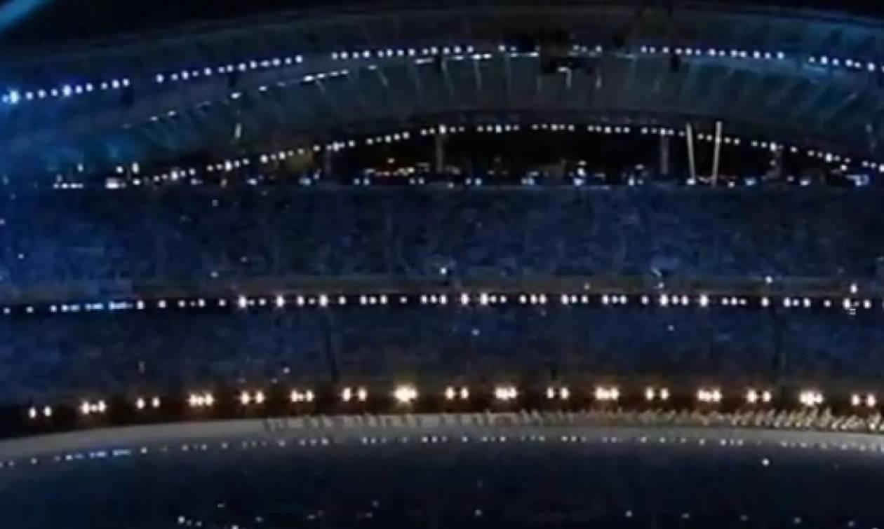 Ολυμπιακοί Αγώνες: Το αξέχαστρο ζεϊμπέκικο στην τελετή έναρξης των αγώνων της Αθήνας το 2004 (Video)
