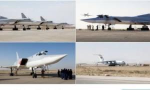 Ρωσικά βομβαρδιστικά απογειώθηκαν για πρώτη φορά από το Ιράν και έπληξαν τη Συρία (video)
