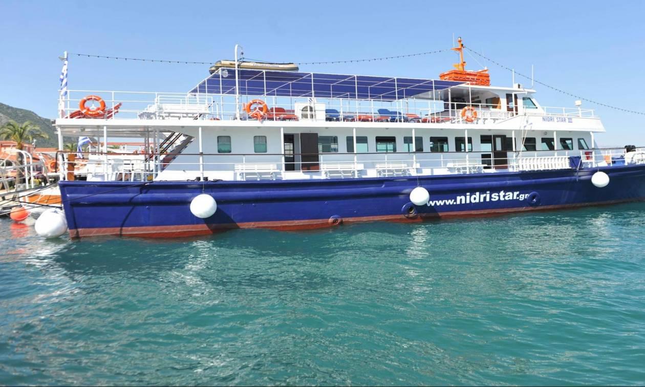 Επιβατηγό πλοίο ξέμεινε από καύσιμα έξω από την Λευκάδα!