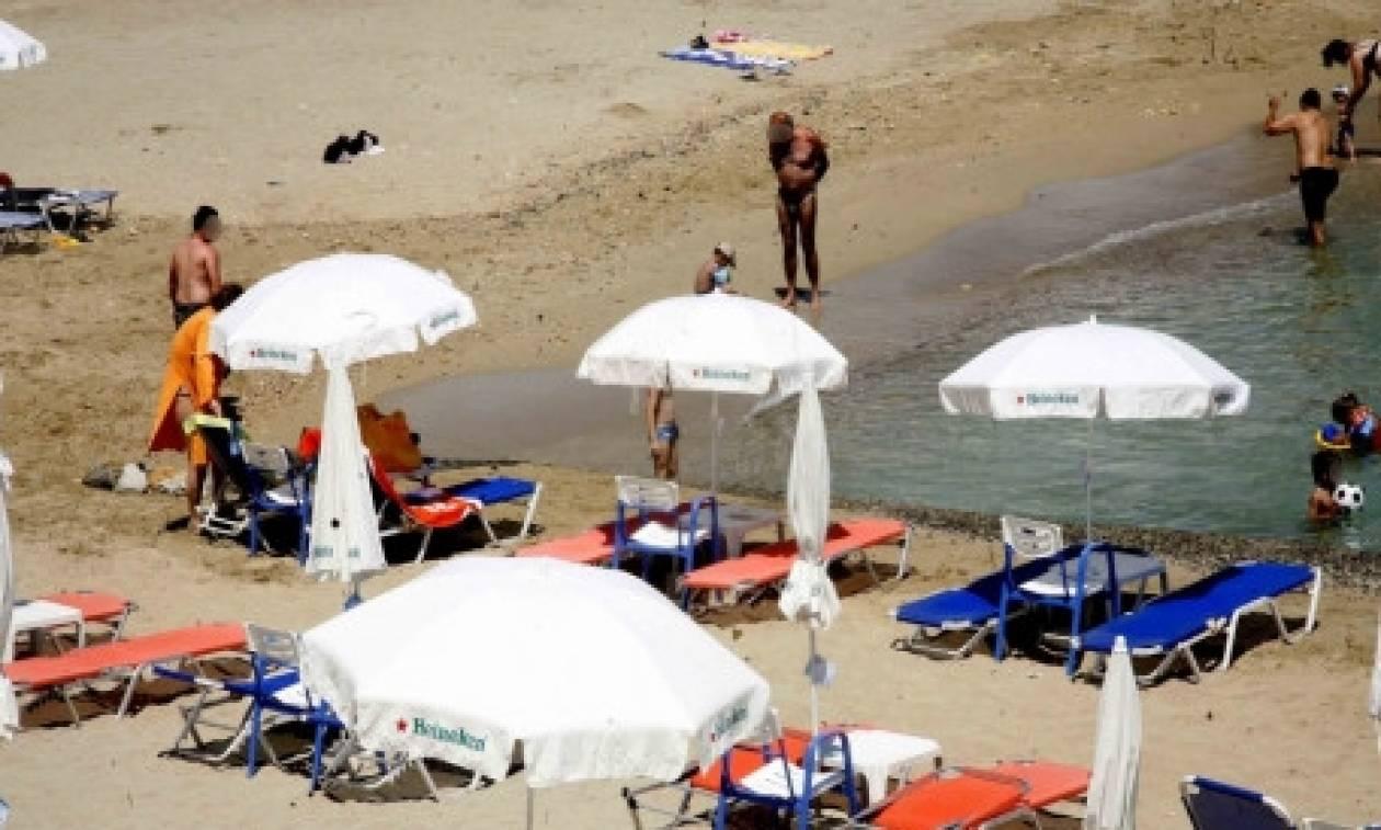 Το απίστευτο θέαμα που αντίκρισε παρέα Κρητικών στην παραλία! (video)