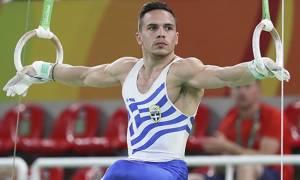 Ολυμπιακοί Αγώνες 2016: Νέο σόου Πετρούνια στο Ολυμπιακό Γκαλά - Σταυροπόδι πάνω στους κρίκους (vid)
