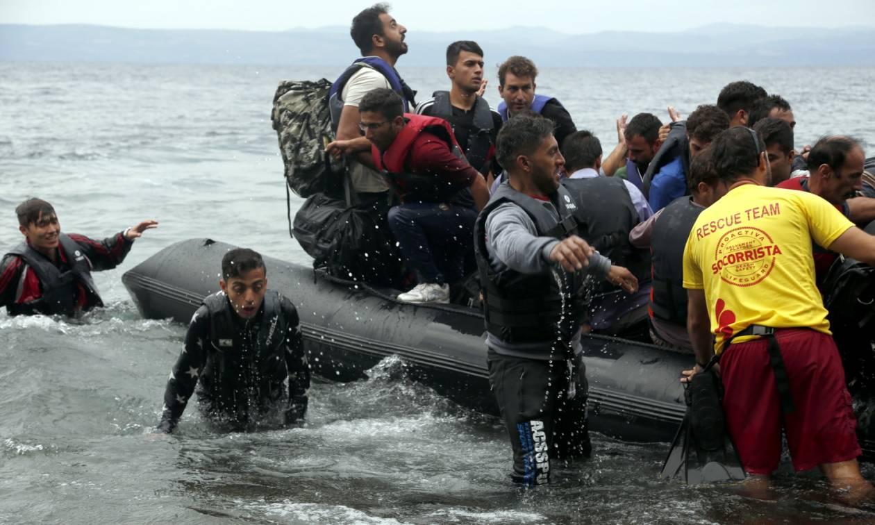 Τουλάχιστον 185 πρόσφυγες έφτασαν μόνο στη Μυτιλήνη το τελευταίο 24ωρο