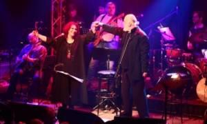 Ο Διονύσης Σαββόπουλος και η Ελένη Βιτάλη στο Θέατρο Τεχνόπολις