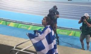 Νέο ΕΠΙΚΟ βίντεο - Η Κατερίνα Στεφανίδη συνειδητοποιεί ότι πήρε το χρυσό και… τρελαίνεται!
