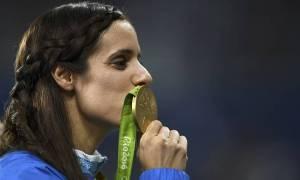 Ρίο 2016: Συγκίνηση και ανατριχίλα - Η απονομή του χρυσού στην Κατερίνα Στεφανίδη