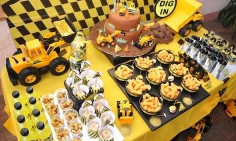 5+2 ιδέες για παιδικό πάρτι γενεθλίων αποκλειστικά για αγόρια!