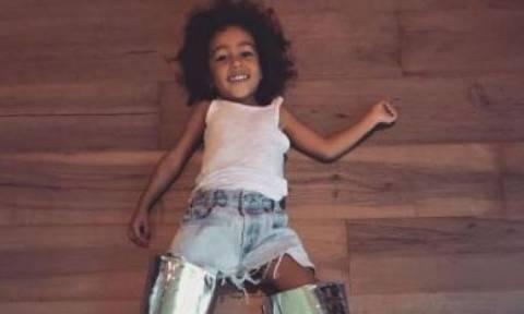 North West: Δεν θα πιστεύετε τι έβαλε ο μπαμπάς της στη μπανιέρα για να κάνει μπάνιο