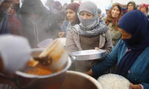 Απίστευτο φαγοπότι Συριζαίων με τη σίτιση των μεταναστών