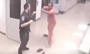 Κρατούμενος φυλακής σώζει φύλακα από επίθεση άλλου κρατουμένου (video)