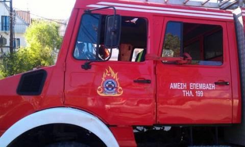 Καβάλα: Τρεις πυροσβέστες τραυματίες από ανατροπή οχήματος