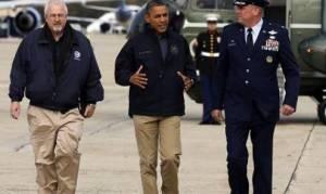 Ομπάμα: Ιστορικών διαστάσεων οι πλημμύρες που «σάρωσαν» ζωές στη Λουιζιάνα (videos)