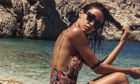 Η Ελένη Φουρέιρα καληνύχτισε τους φίλους της με το πιο σέξι outfit