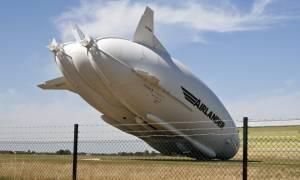 Συνετρίβη σε δοκιμαστική πτήση το μεγαλύτερο αεροσκάφος του κόσμου! (pics+vid)