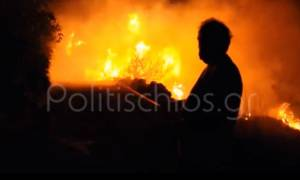 Φωτιά Χίος - Βίντεο σοκ από την εκκένωση της Σιδηρούντας: «Βοήθεια! Βοήθεια!» (vid)