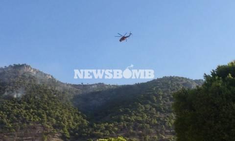 Φωτιά Ασπρόπυργος: Συγκλονιστικά πλάνα μέσα από τον φακό του Newsbomb.gr (vid + pics)