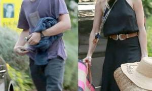 Hollywood Report: Τι και αν δηλώνουν χωρισμένοι, οι παπαράτσι τους πέτυχαν μαζί