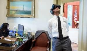 Ο Ζάκερμπεργκ «ταξίδεψε» τον Ομπάμα στην εικονική πραγματικότητα
