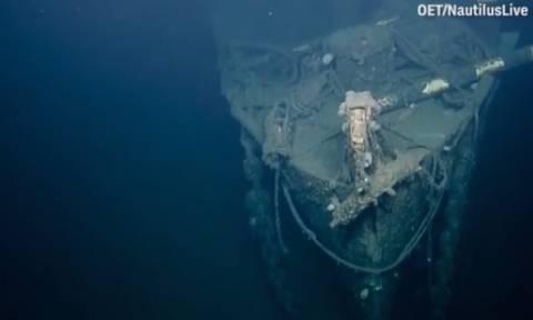 Οι πρώτες εικόνες από το ιστορικό ναυάγιο του USS Independence