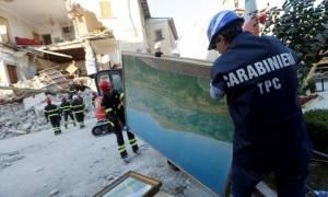 Τρόμος ξανά στην Iταλία: Μετασεισμοί προκάλεσαν κατάρρευση πτέρυγας δημοτικού σχολείου