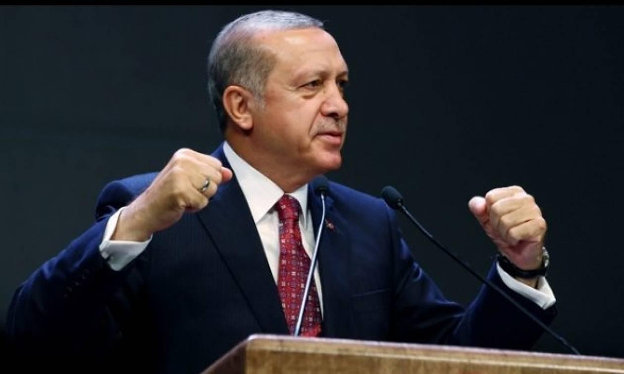 Ο Ερντογάν υποσχέθηκε ότι η καταδίωξη των τρομοκρατών θα είναι ανελέητη
