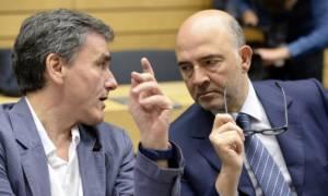 Συνάντηση Τσακαλώτου - Μοσκοβισί και συνεδρίαση EuroWorking Group